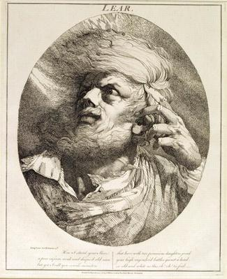 Lear, from King Lear, Act III, Scene 3, 1776