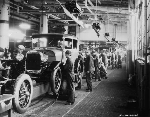 Ford Factory | The Study of Economics
