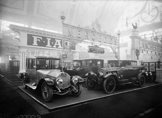 Motor Show 1913 | Evolution of the Automobile