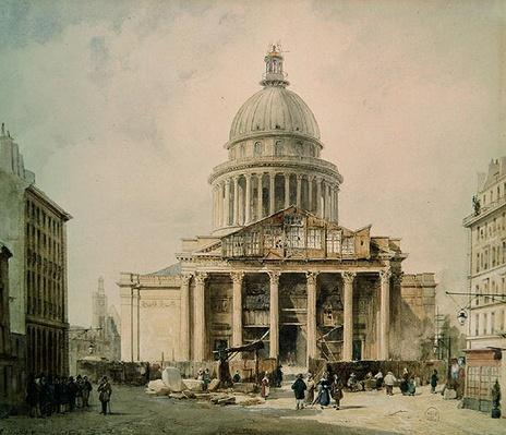 The Pantheon in 1835