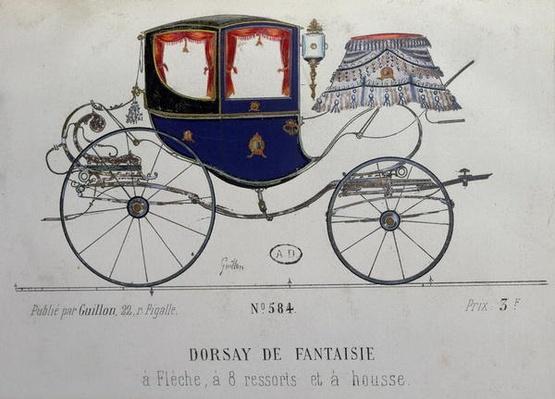 Design for a 'Coupe Dorsay de Fantaisie'