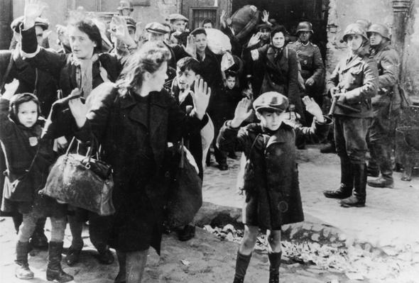 Rounding Up Jews | World War II