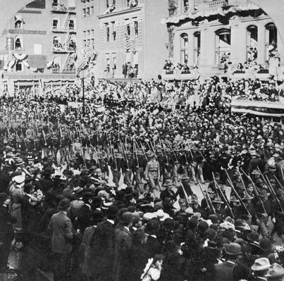 The Tenth Marching   The Gilded Age (1870-1910)   U.S. History