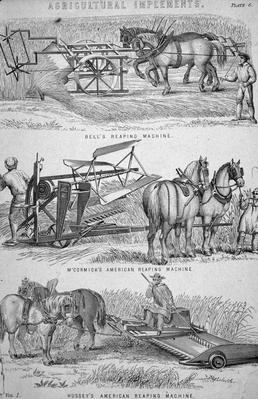 Reaping Machines | Industrial Revolution