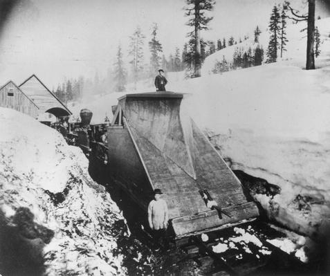 Snow Clearance | The Wild West is Tamed (1870-1910) | U.S. History