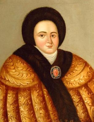 Portrait of Tsarina Evdokiya Lopukhina