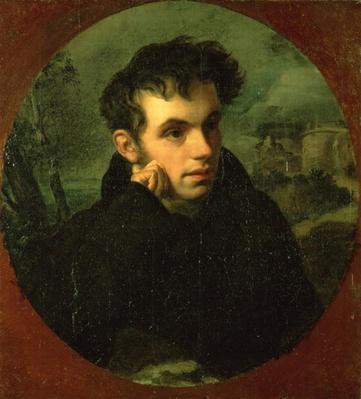 Portrait of Vassily Zhukovsky, 1816