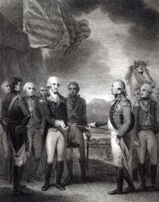 Surrender of Lord Cornwallis at Yorktown, 1781