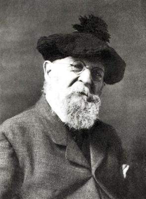 Portrait of Joseph Wolf