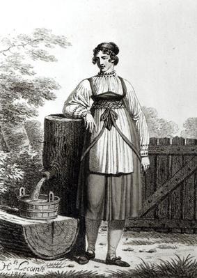 Tirollian Peasant Girl, 1817