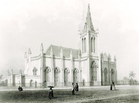 Trinity church, Port of Spain