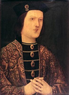 Portrait of King Edward IV of England