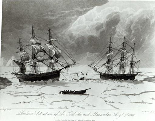 Perilous Situation of the Isabella and Alexander, 7th August 1819