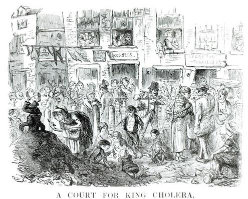 A Court for King Cholera, 1852