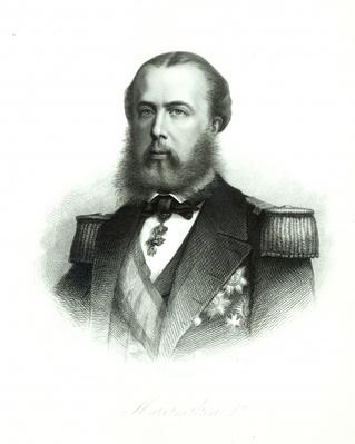 Portrait of Emperor Maximilian of Mexico, 1864