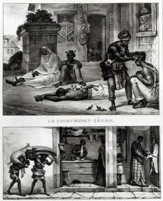 A Negro Surgeon; Store of a Pork Seller