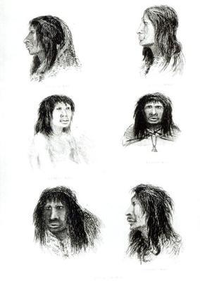 Fuegians, 1838