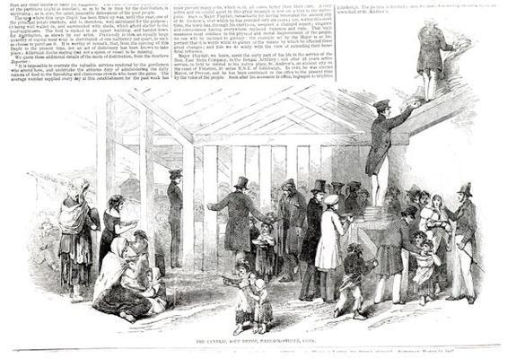 Irish Potato Famine, 1847