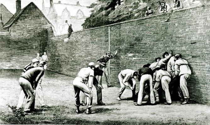 Football at the Wall at Eton