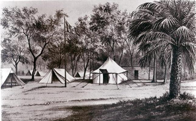 Lord Wolseley's Camp at Korti
