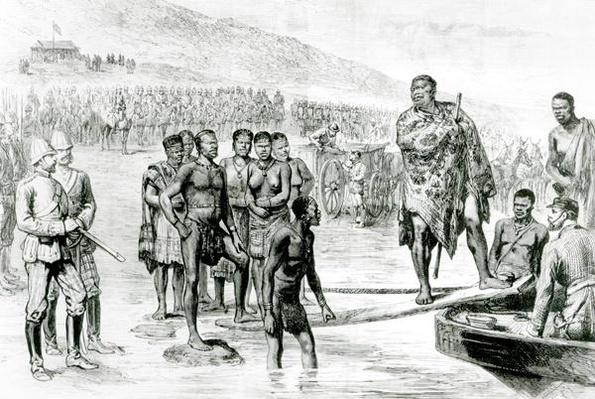 The Captivity of Cetewayo