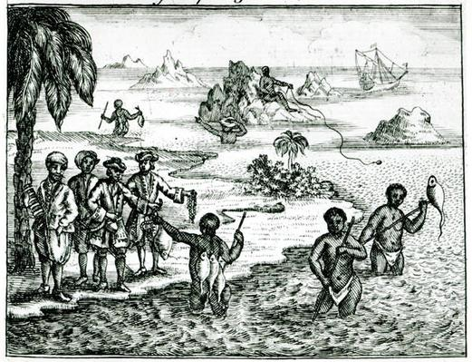 The Hottentot Manner of Fishing