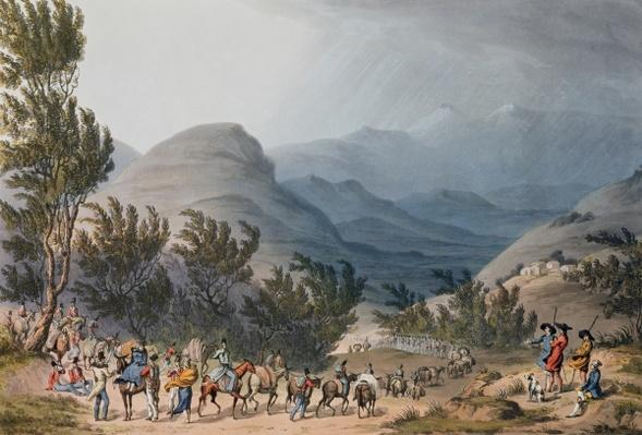 Serra de Estrella or De Neve, engraved by C. Turner, 16th May 1811