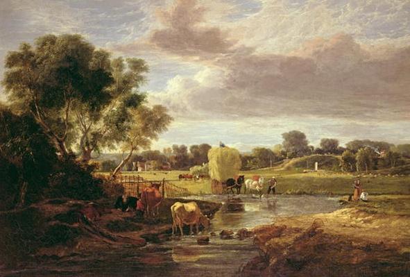 Trowse Meadows, Near Norwich, 1828