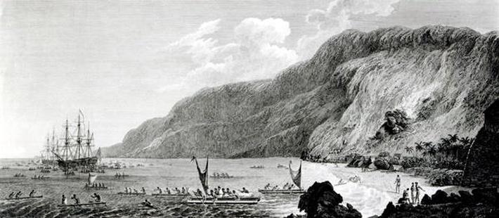 A View of Karakakooa, in Owyhee, engraved by W. Byrne