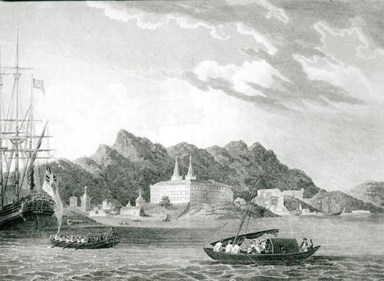 Harbour of Rio Janiero, with the Benedictine Monastery,