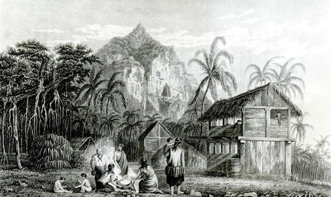 Interior of Pitcairn Island, 1831