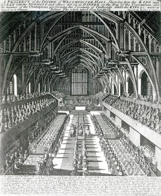 The Inside of Westminster Hall