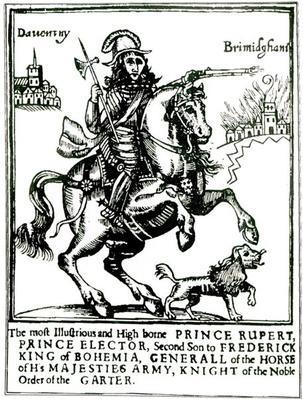 Prince Rupert on Horseback