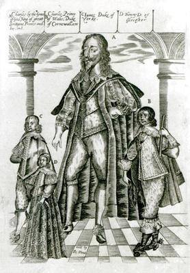 Charles I with his Children