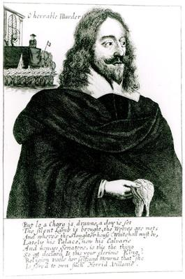 Portrait of Charles I at his Execution