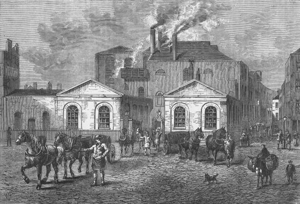 Meux's Brewery, 1830