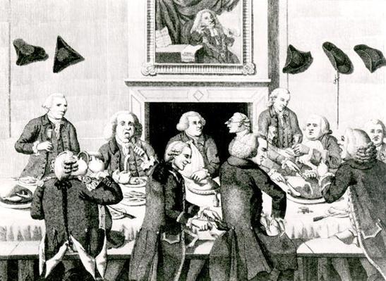 Tasting, 1780