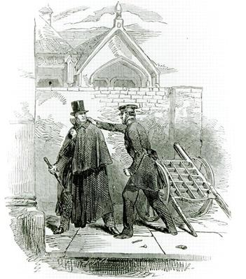 Arrest of Mr. Smith O'Brien, from 'The Illustrated London News,' 1848