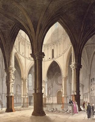 Temple Church, 1809