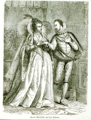 Queen Elizabeth and her Suitors