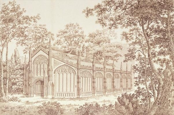 The Exterior of the Prince of Wales's Conservatory at Carlton House, 1811