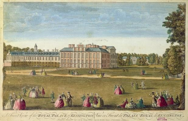 A Front View of the Royal Palace of Kensington, c.1812