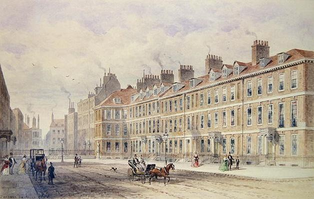 South Side of Queen Square, 1851