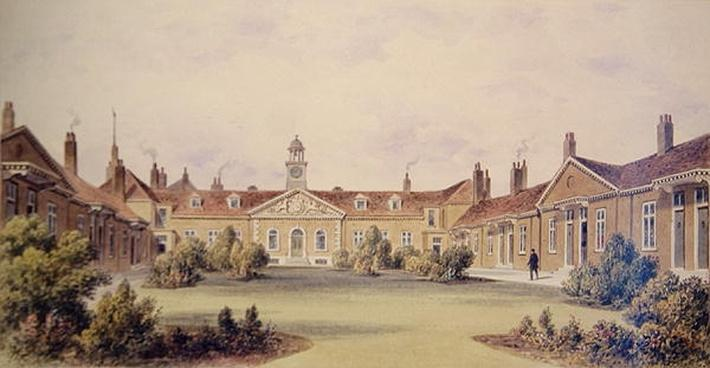 Emanuel Hospital, Tothill Fields, 1850