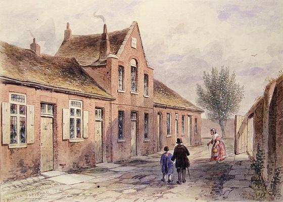 Witcher's Alms Houses Tothill Fields, 1850