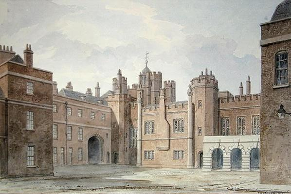 View in the Kitchen Court of St. James's Palace