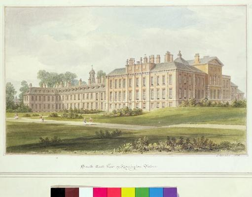 South East View of Kensington Palace, 1826