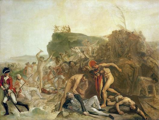 The Death of Captain James Cook, 14th February 1779