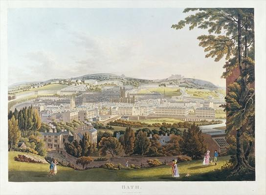 A View of Bath, 1817