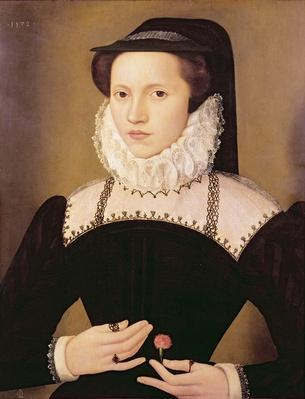 Portrait of Anne Waltham, 1572